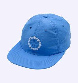 QUASI SKATEBOARDS QUASI TRAX 6 PANNEL HAT - BLUE