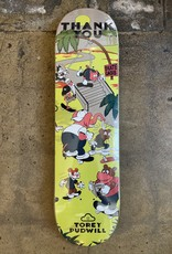 THANK YOU SKATEBOARDING THANK YOU TOREY PUDWILL SKATE OASIS DECK - 8.25