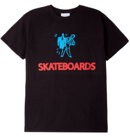 CORPORATE SKATEBOARDS CORPORATE LOOK AT ME BITCH T-SHIRT - BLACK