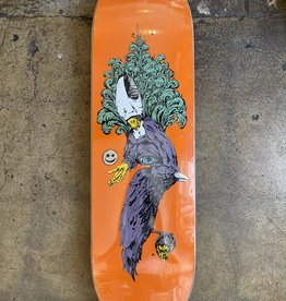 WELCOME SKATEBOARDS WELCOME TONIGHT I'M YOURS ON BACULUS 2 DECK (ORANGE) - 9.0