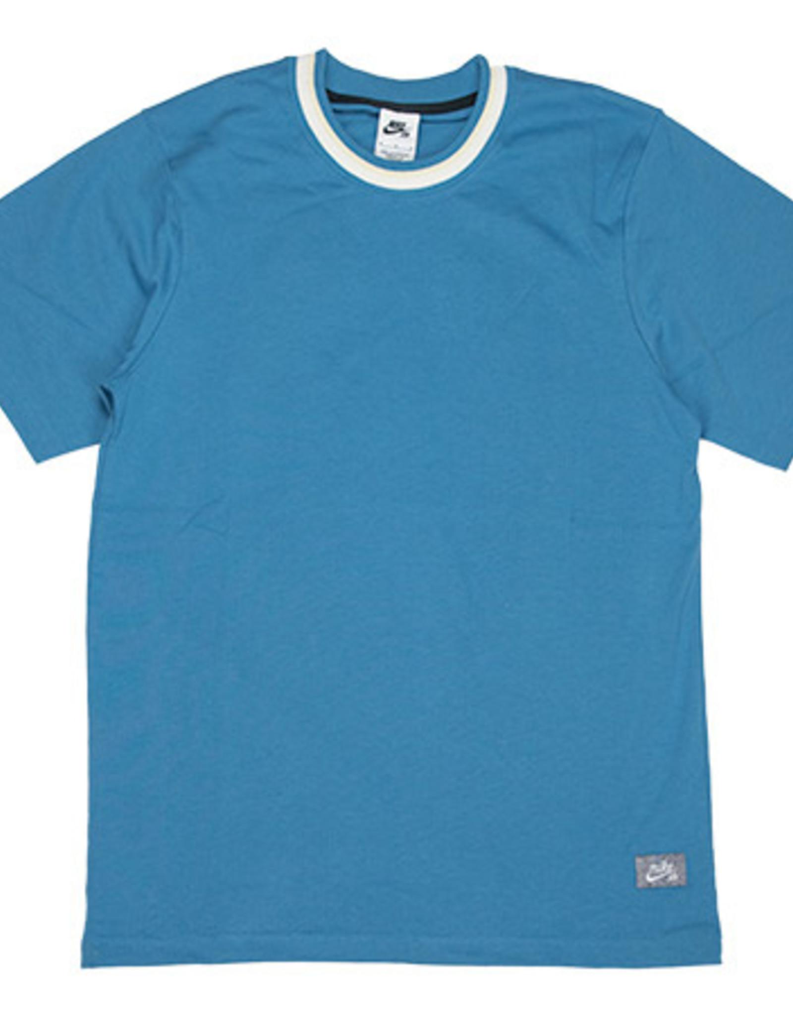 NIKE SB PREMIUM SUSTANABLE T-SHIRT - DUTCH BLUE/DUTCH BLUE