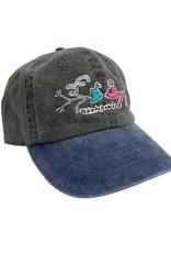 FROG FROG EXISTS! HAT - (BLACK/BLUE)