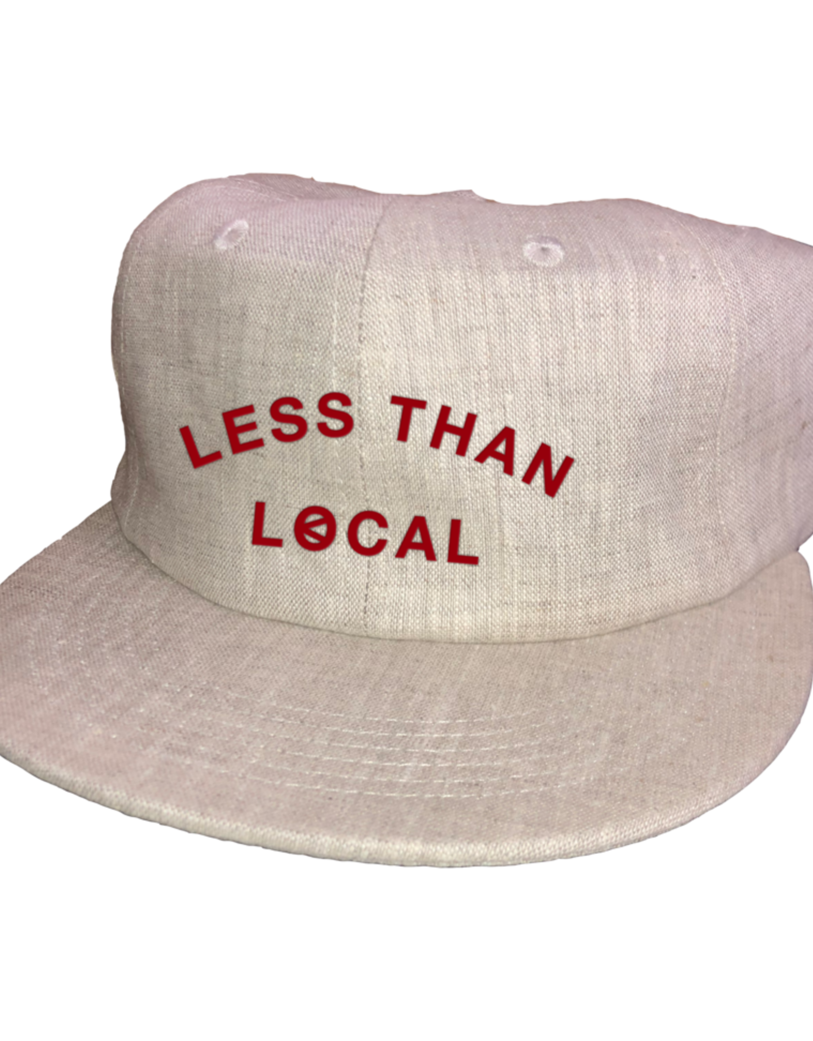 LESS THAN LOCAL LESS THAN LOCAL LINEN ARC HAT