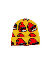 GLABOE GLABOE ALL OVER BEANIE - YELLOW