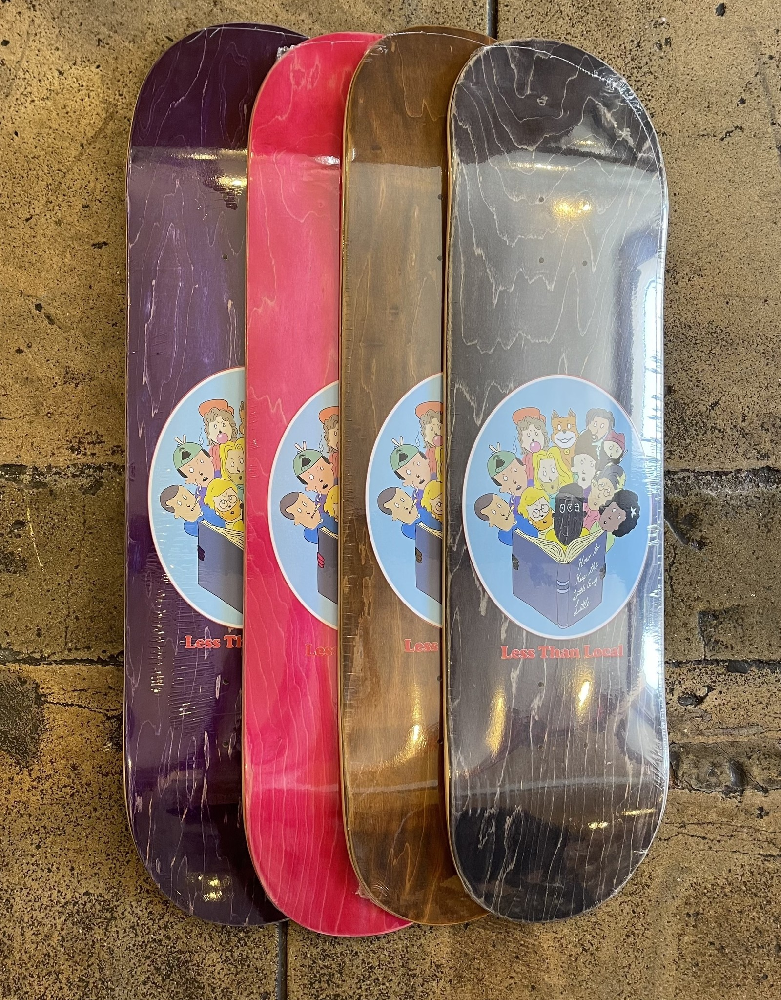 LESS THAN LOCAL LESS THAN LOCAL LITTLE GUYS DECK - (ALL SIZES)