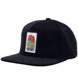 HOCKEY ARIA 5-PANEL HAT - BLACK