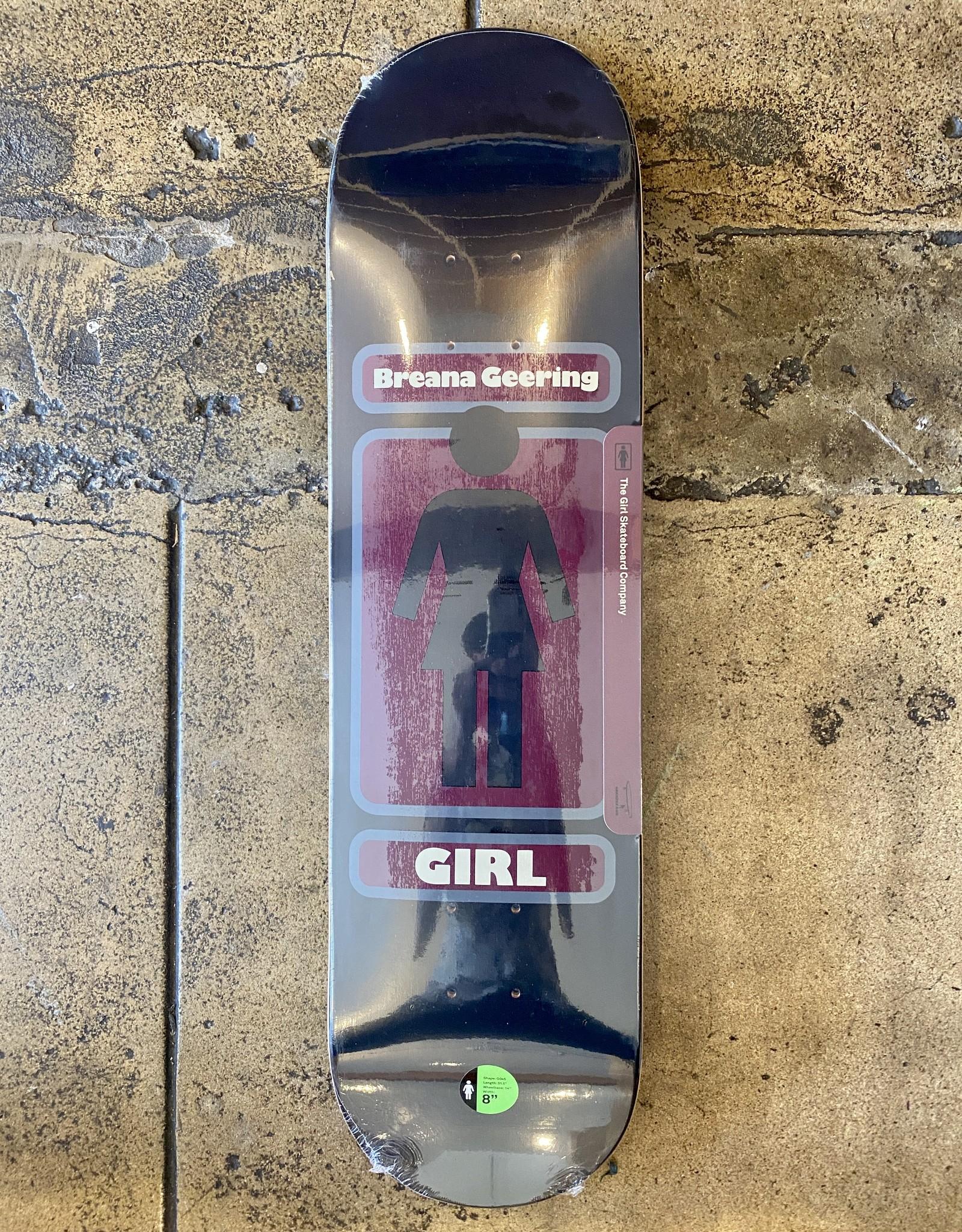 GIRL  SKATEBOARDS BREANA GEERING '93/TIL - 8.0