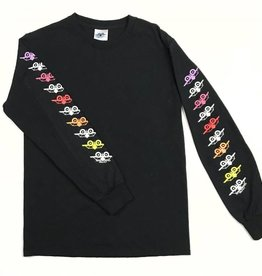 SMA SMA REPEATING PLANE L/S TEE - BLACK