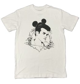 KINGSWELL KINGSWELL MOUSE MOZ T SHIRT - WHITE