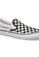 VANS SLIP ON PRO - (CHECKERBOARD) BLACK/WHITE