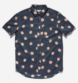 BANKS JOURNAL BANKS URCHIN S/S BUTTON - DIRTY DENIM