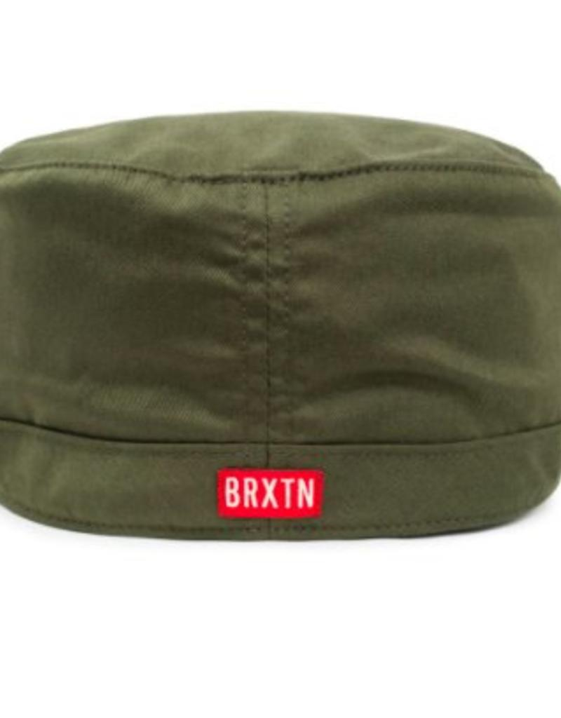 f6ea51e8b4089 BRIXTON BRIXTON BRIGADE HAT - ARMY BRIXTON BRIXTON BRIGADE HAT - ARMY