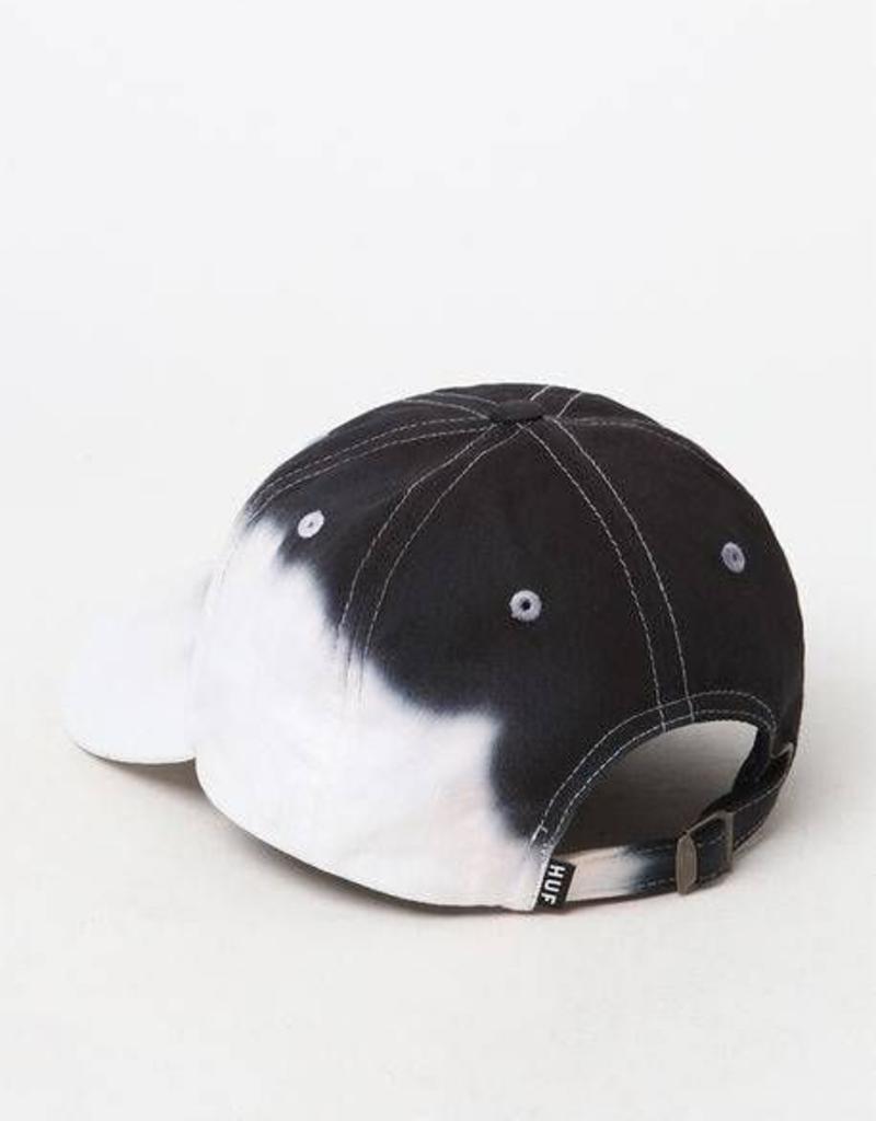 HUF DIP DYE HAT - BLACK