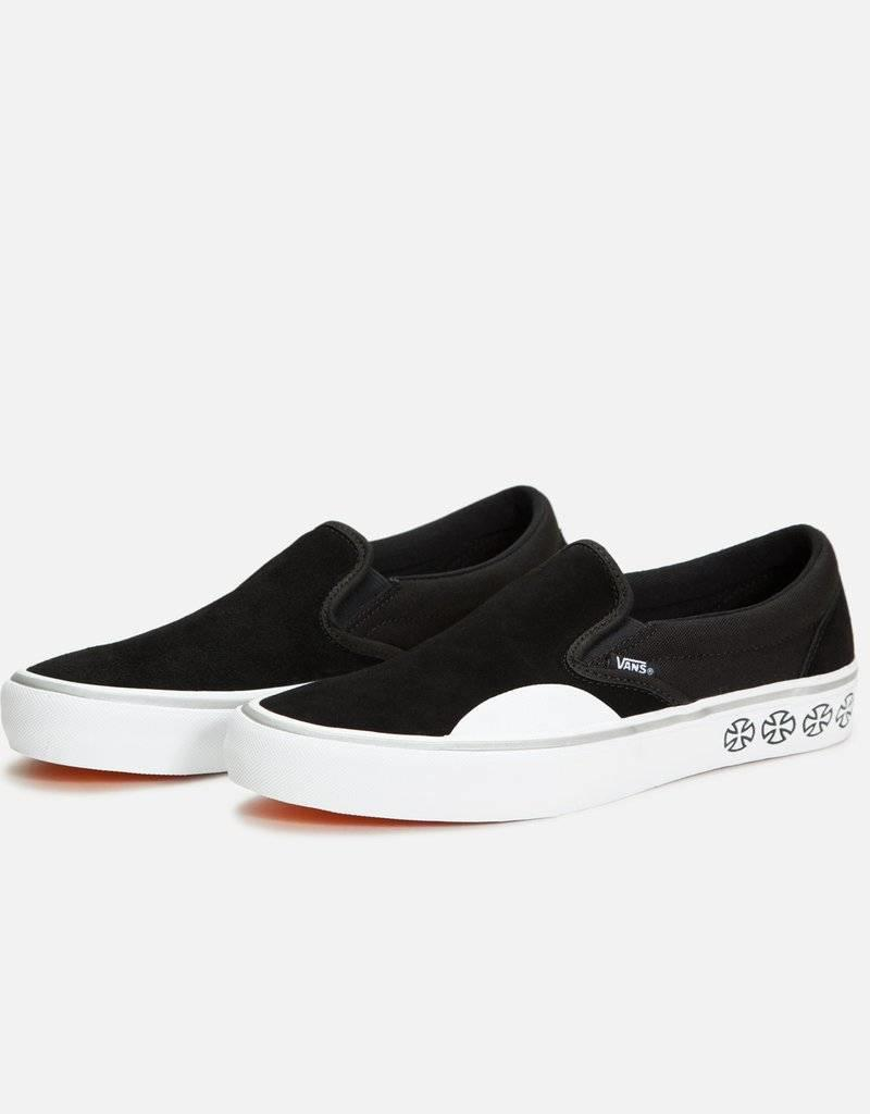 VANS VANS X INDEPENDENT SLIP ON PRO - BLACK/WHITE