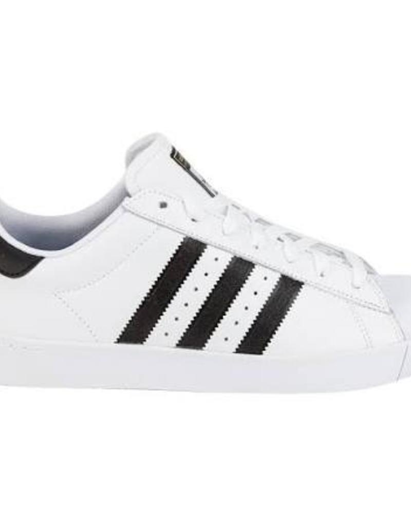 ADIDAS ADIDAS SUPERSTAR VULC ADV - WHITE/BLACK
