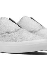 HUF FOOTWEAR HUF DYLAN SLIP ON - CRACKED WHITE/BLACK