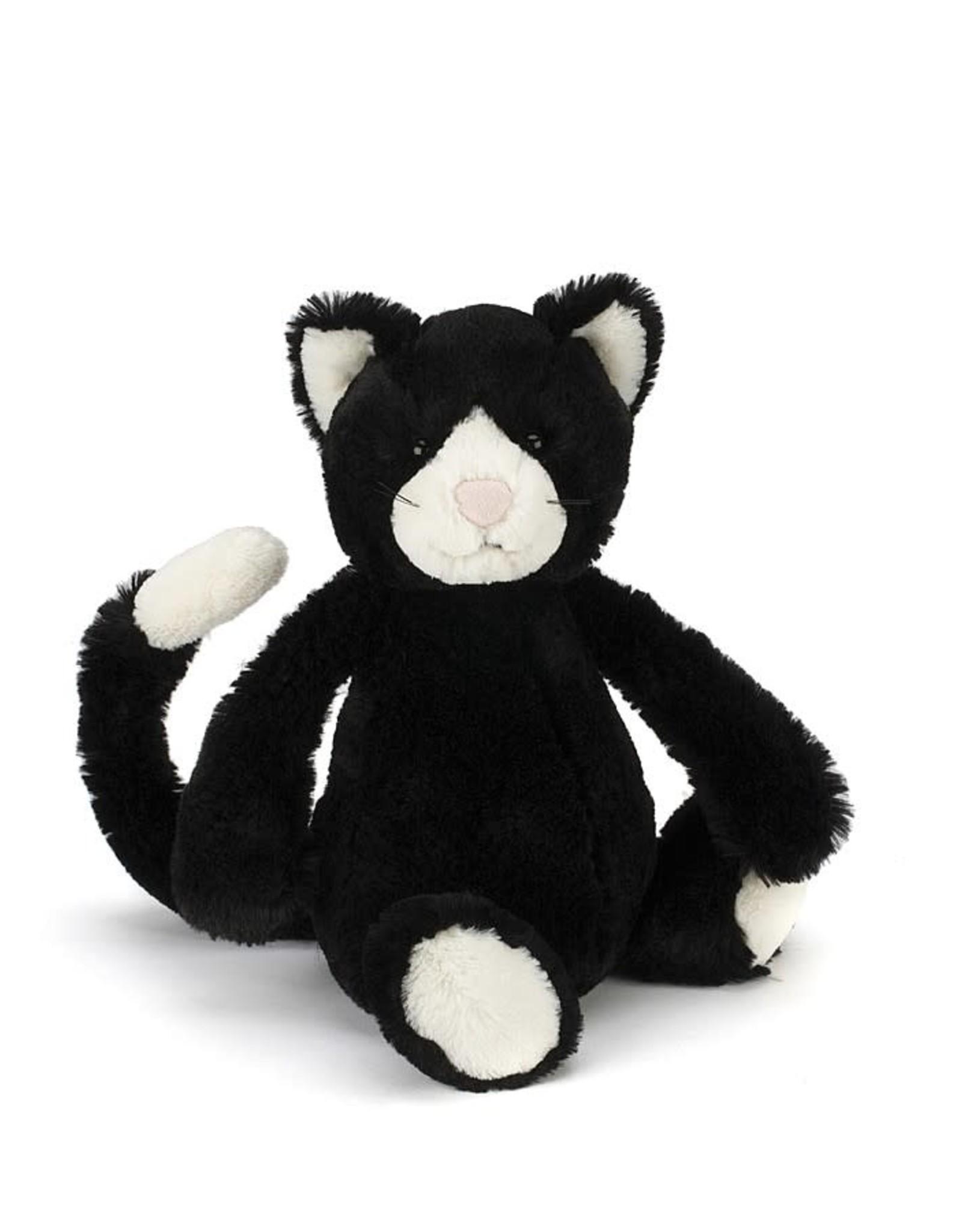 Jellycat Jellycat - Bashful Black & White Kitten Medium