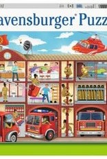 Ravensburger Firehouse Frenzy XXL 100pc Puzzle