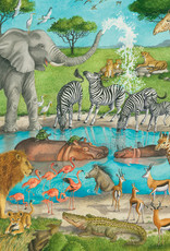 Ravensburger Watering Hole Delight 24pc Floor Puzzle