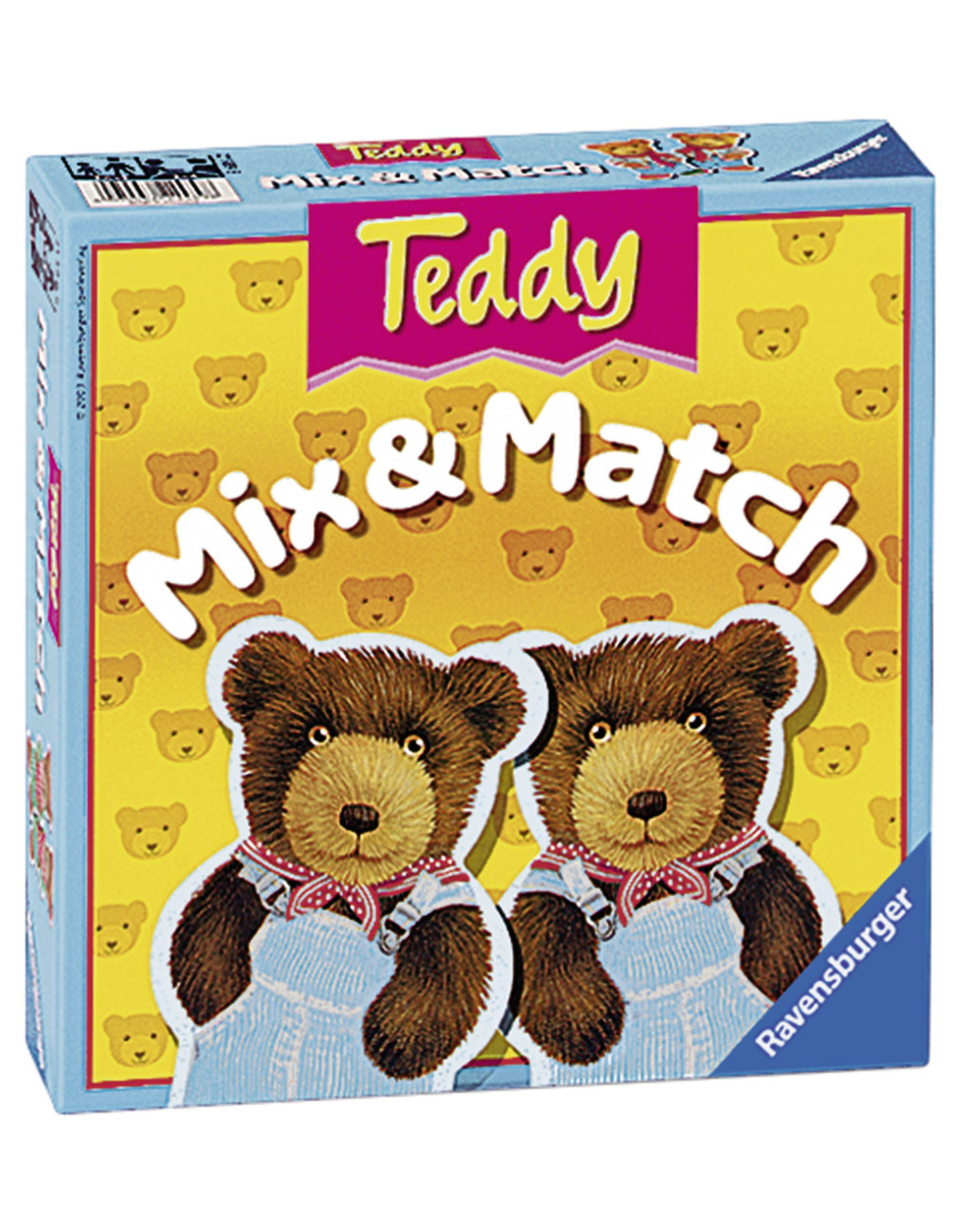 Ravensburger Teddy Mix & Match Game