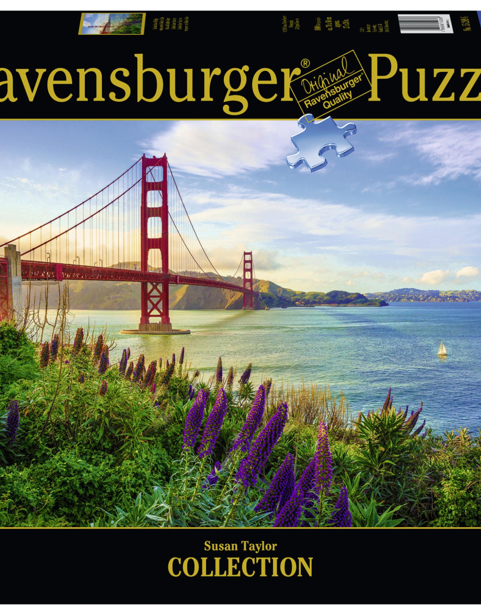 Ravensburger Golden Gate Sunrise 1000pc Puzzle