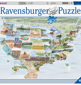 Ravensburger From Sea to Shining Sea 1000pc