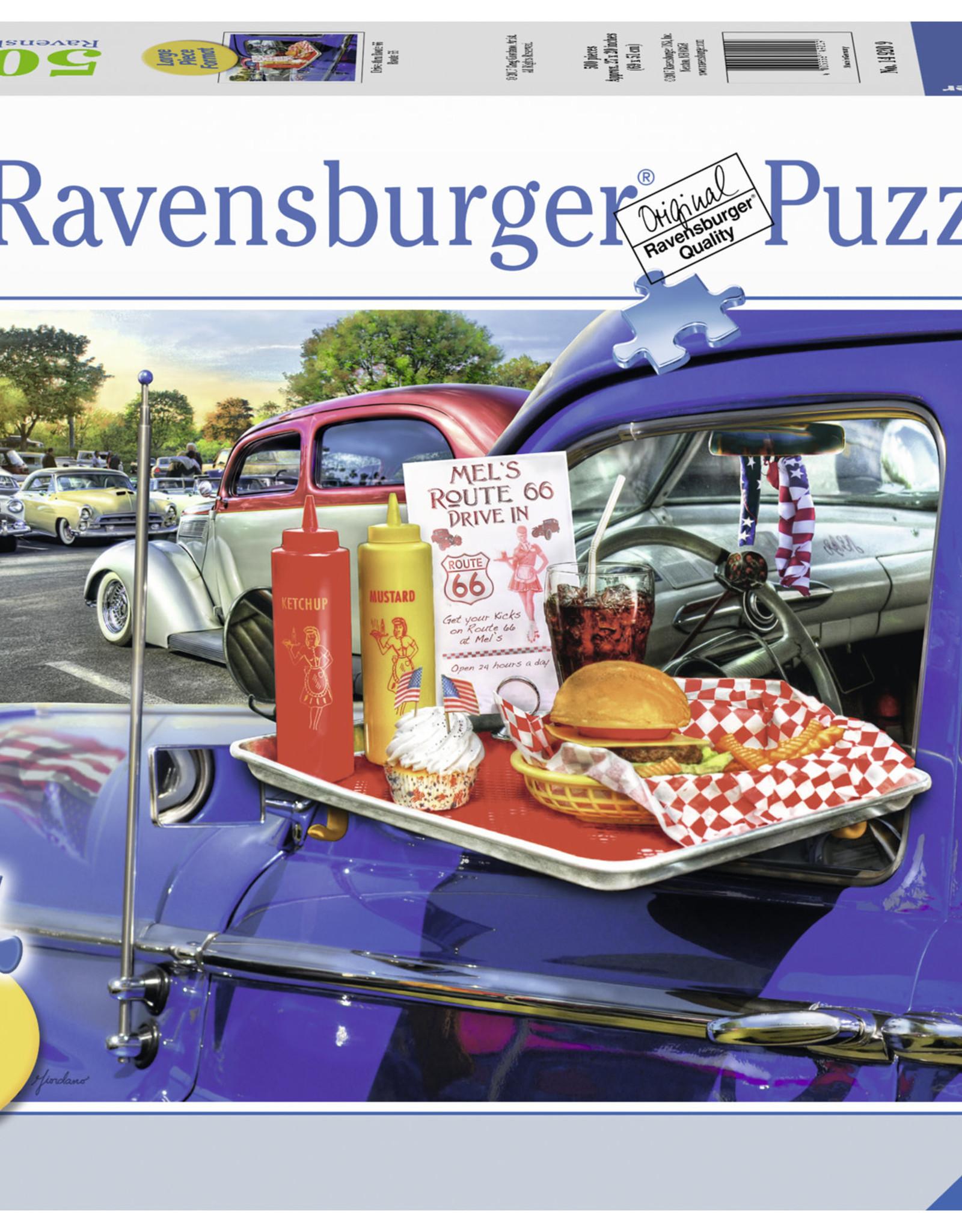 Ravensburger Drive-Thru Route 66 500pc Puzzle Large Format