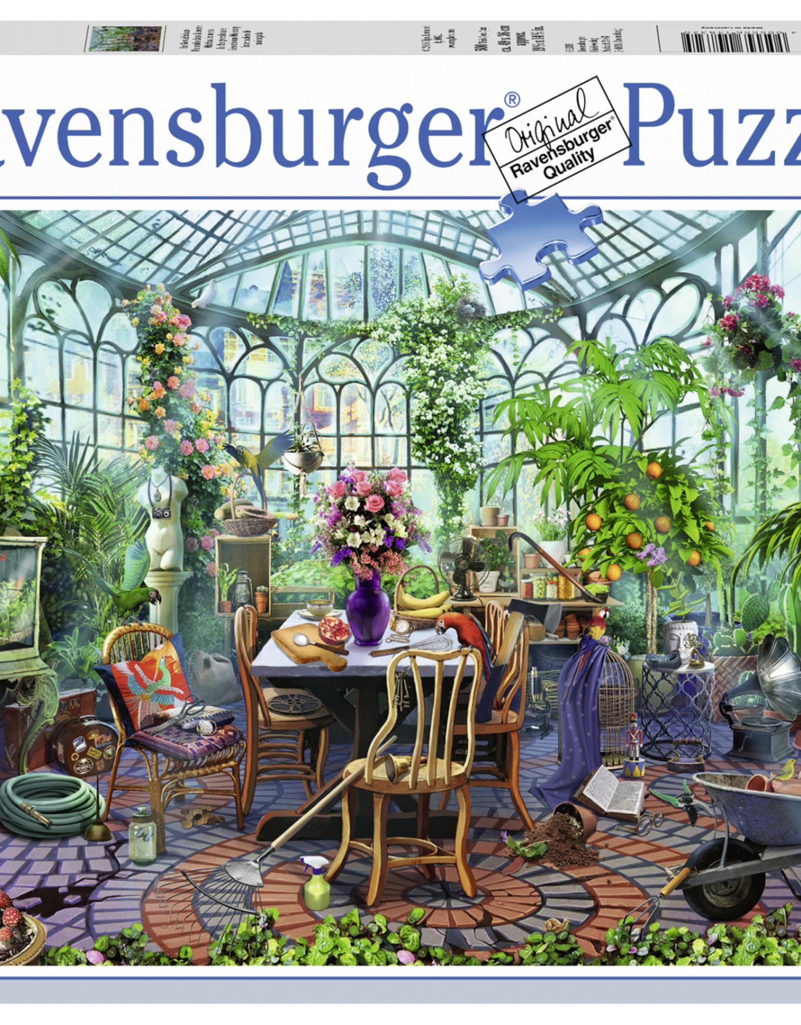 Ravensburger Greenhouse Morning 500pc Puzzle