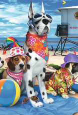 Ravensburger No Dogs on the Beach 100pc Puzzle