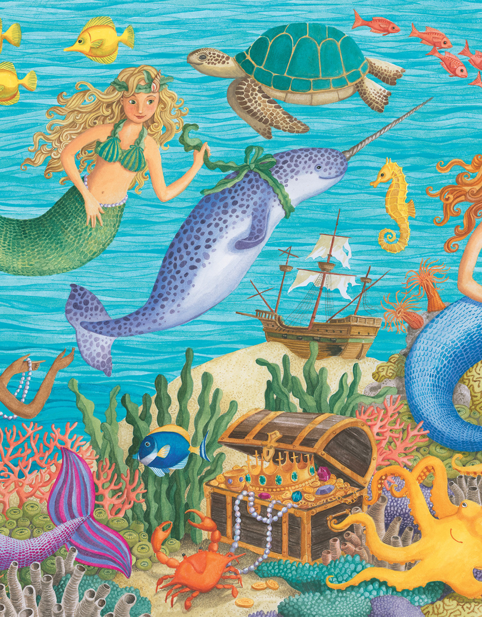 Ravensburger Narwhal's Friends 100pc Puzzle
