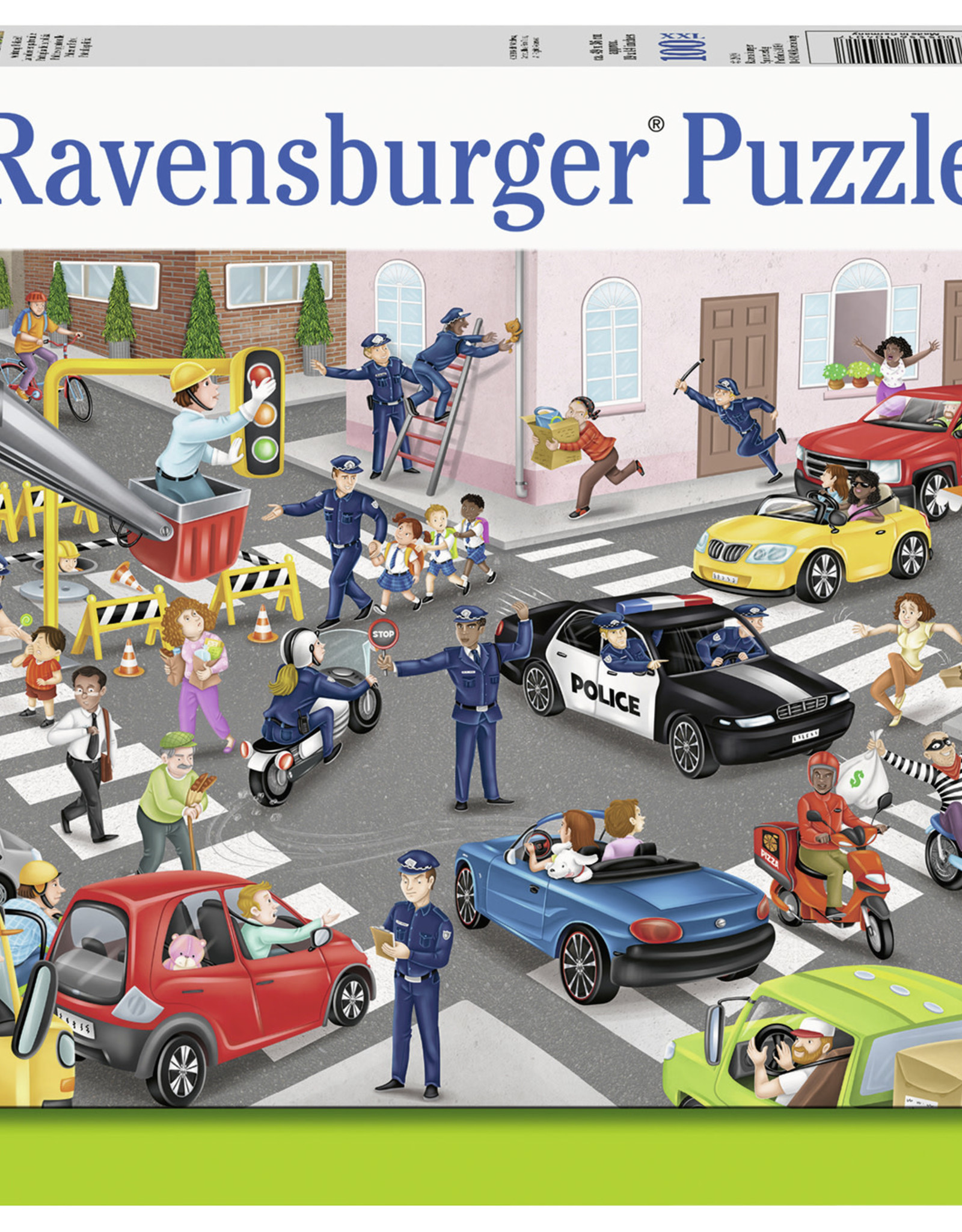 Ravensburger Police on Patrol 100pc Puzzle