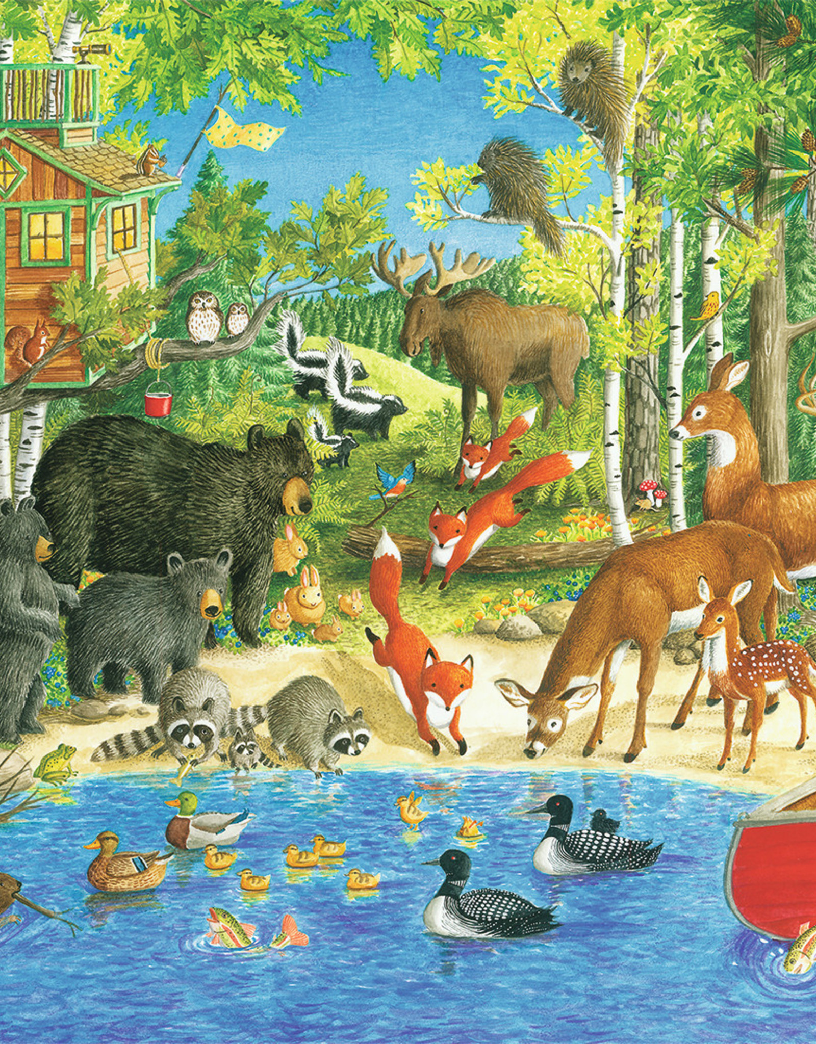 Ravensburger Woodland Friends 200pc Puzzle