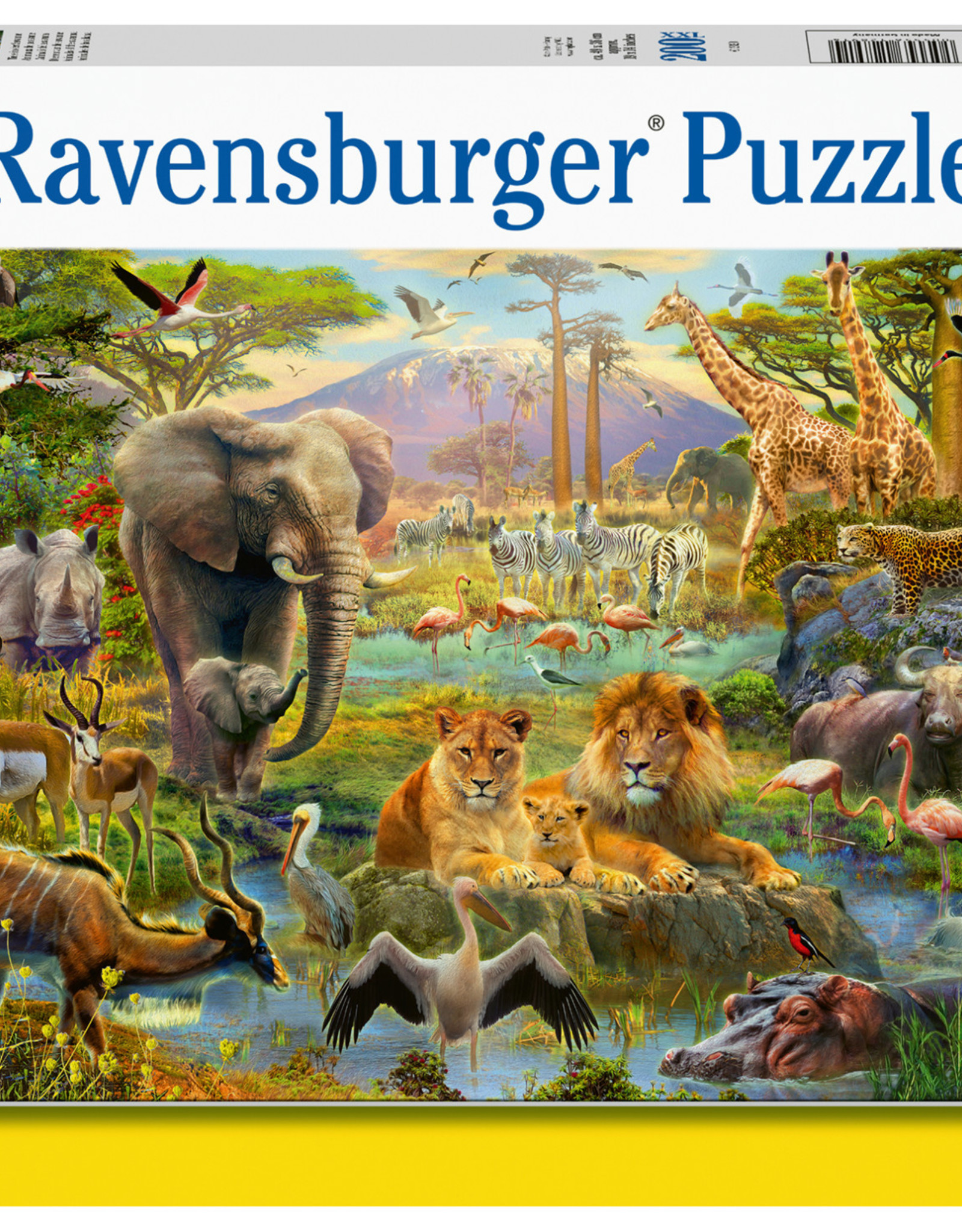 Ravensburger Animals of the Savannah 200pc Puzzle