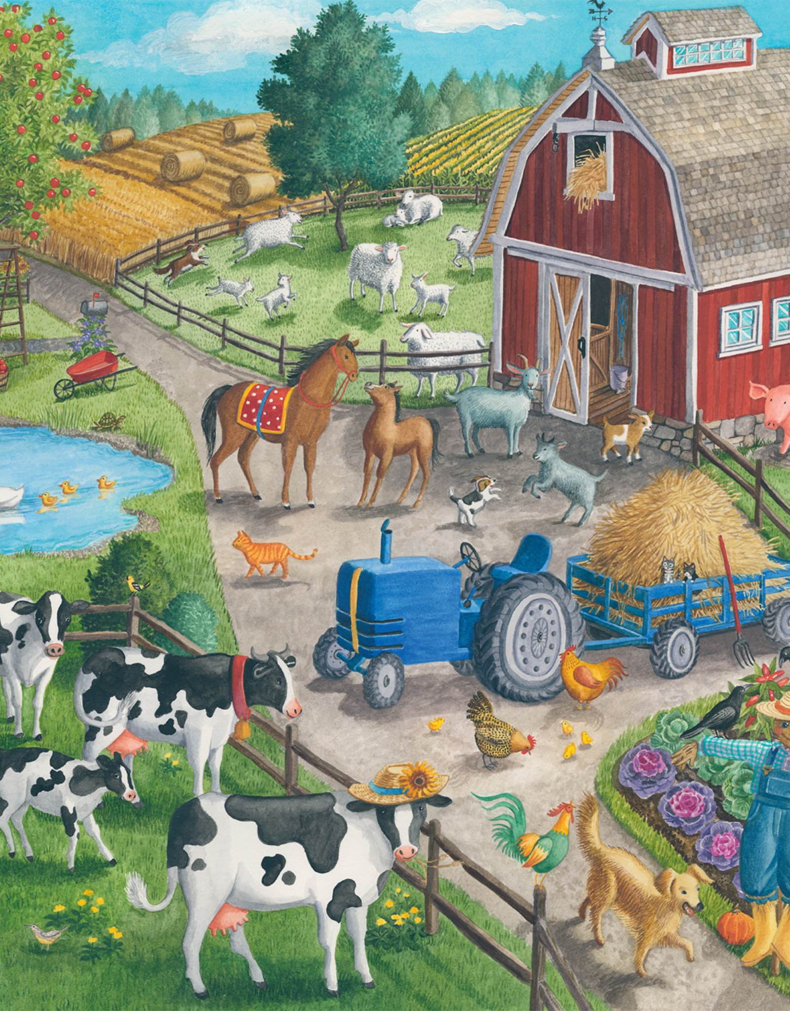 Ravensburger Home on the Range 60pc Puzzle