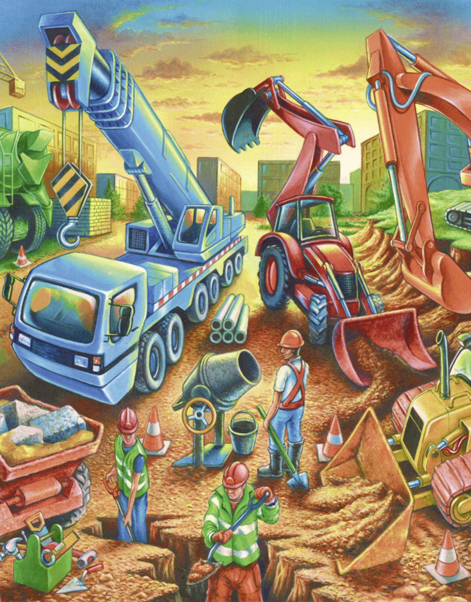 Ravensburger Construction Crew 60pc Puzzle