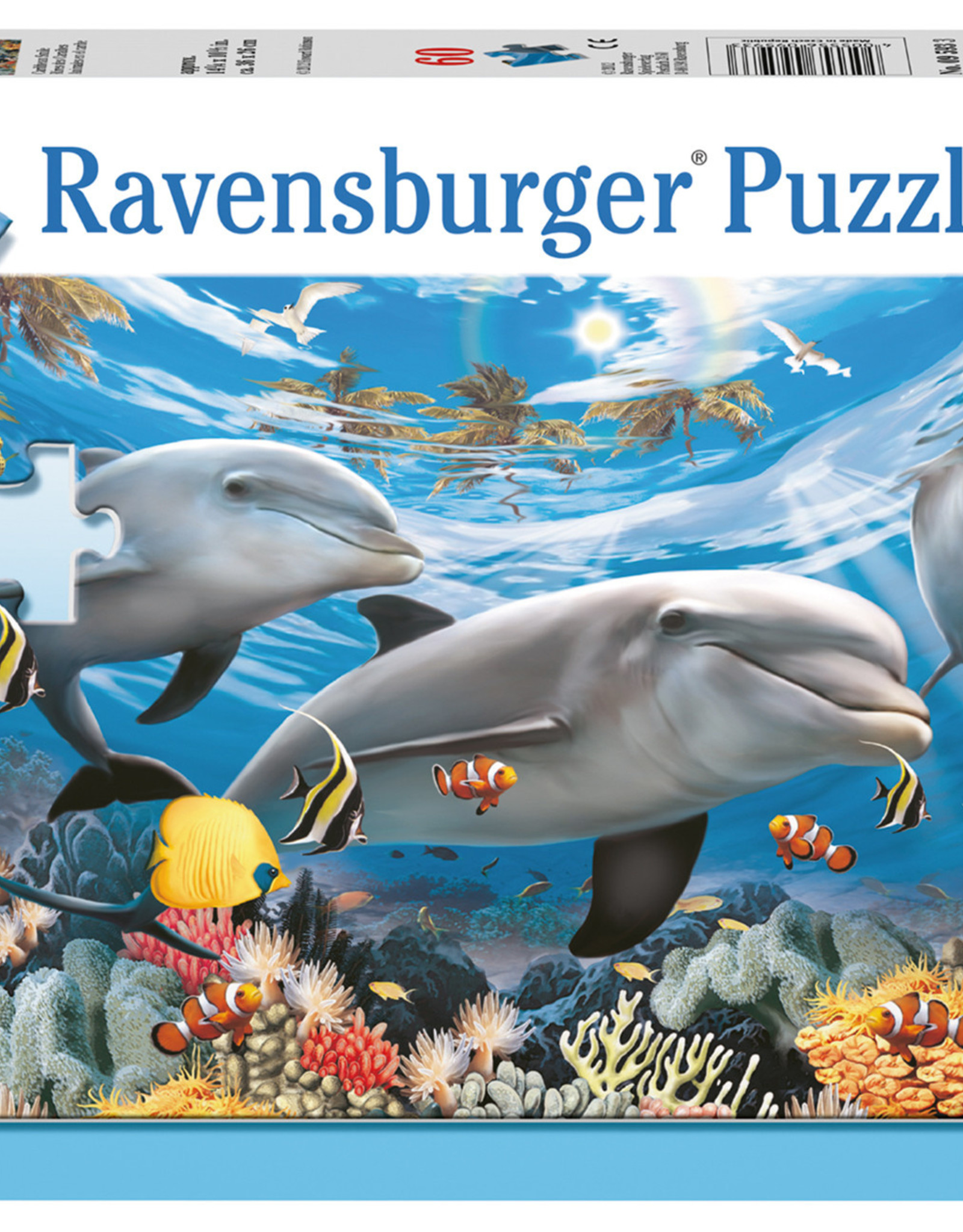 Ravensburger Caribbean Smile 60pc Puzzle