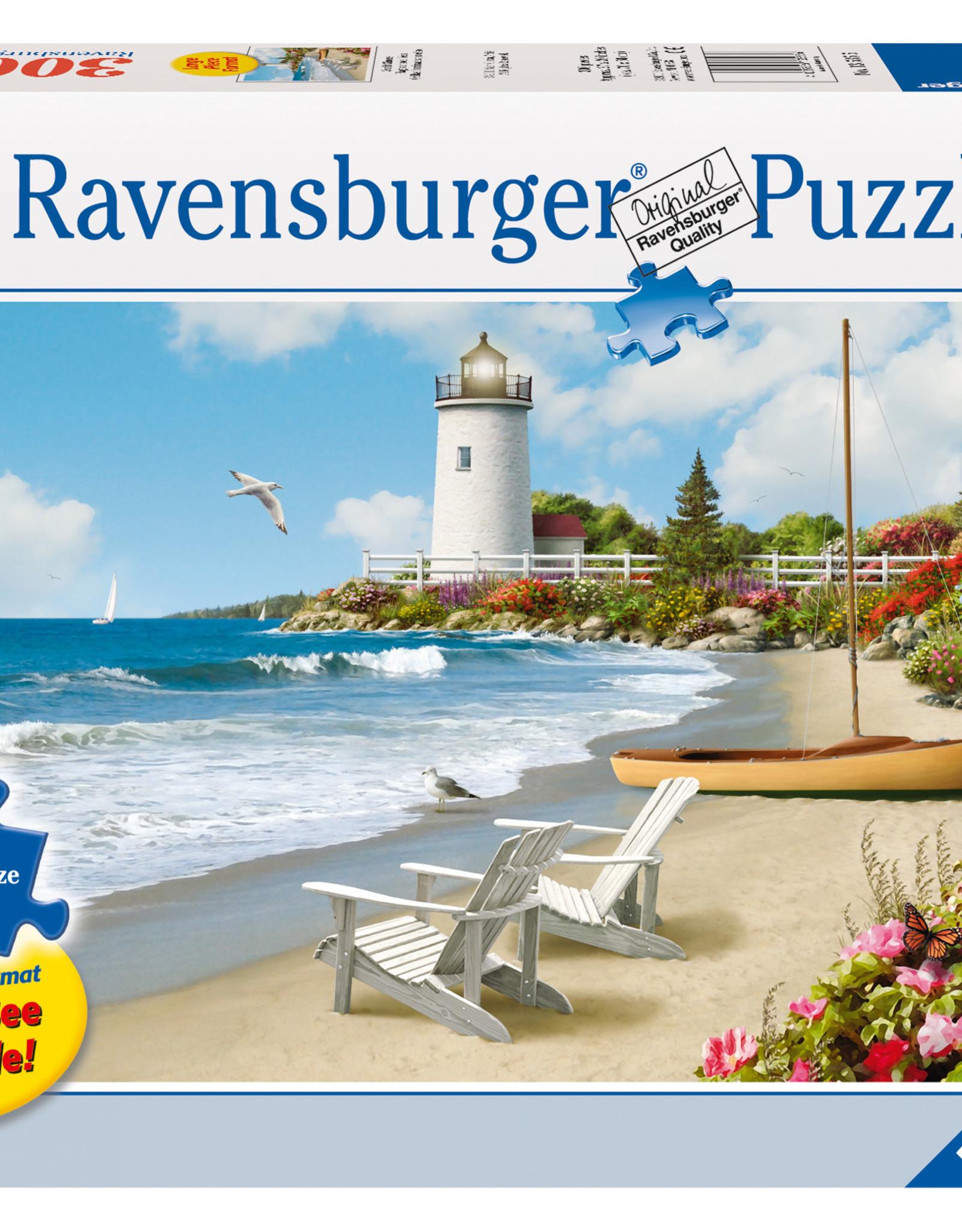 Ravensburger Sunlit Shores 300pc Puzzle Large Format