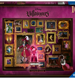 Ravensburger Disney Villainous Captain Hook 1000pc