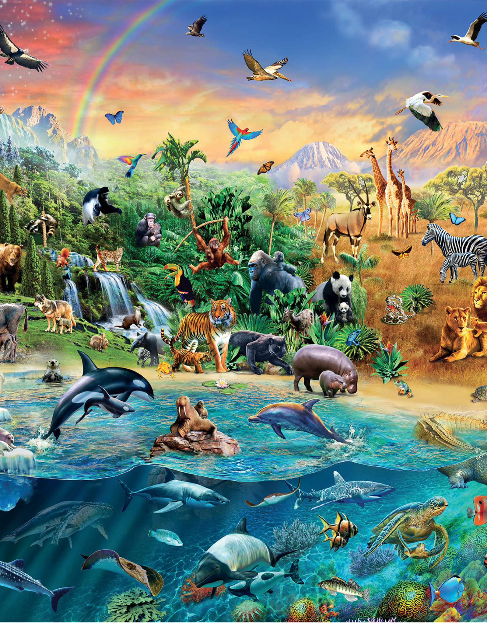 Ravensburger Our Wild World 1500pc Puzzles