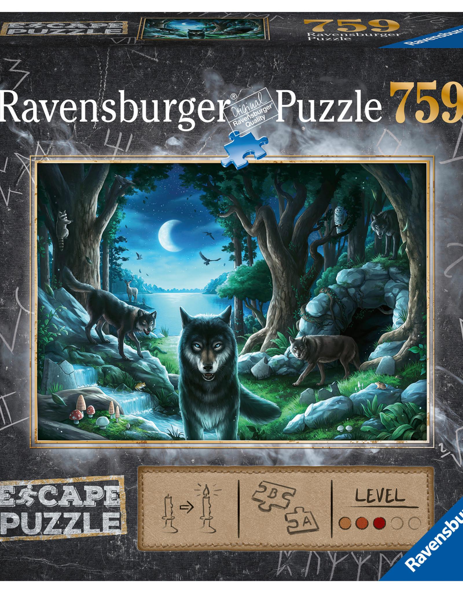 Ravensburger Curse of the Wolves 759pc Escape