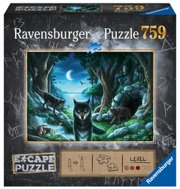 Ravensburger Curse of the Wolves 759pc Escape