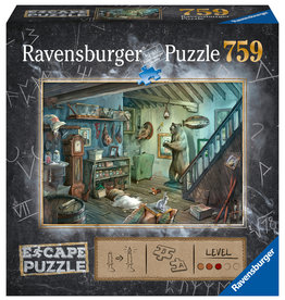 Ravensburger Forbidden Basement 759pc Escape Puzzle