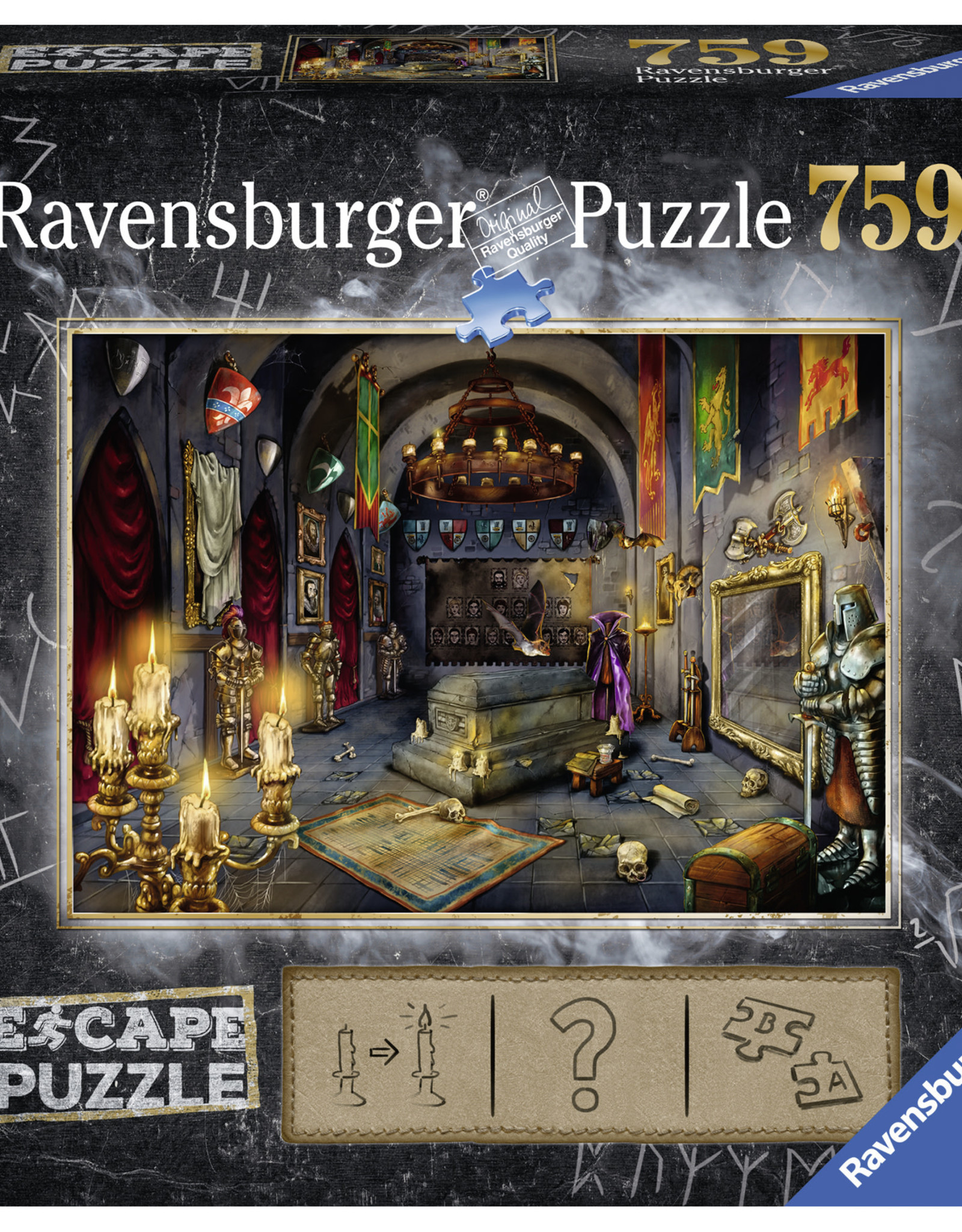 Ravensburger Vampire's Castle Escape Puzzle 759pc