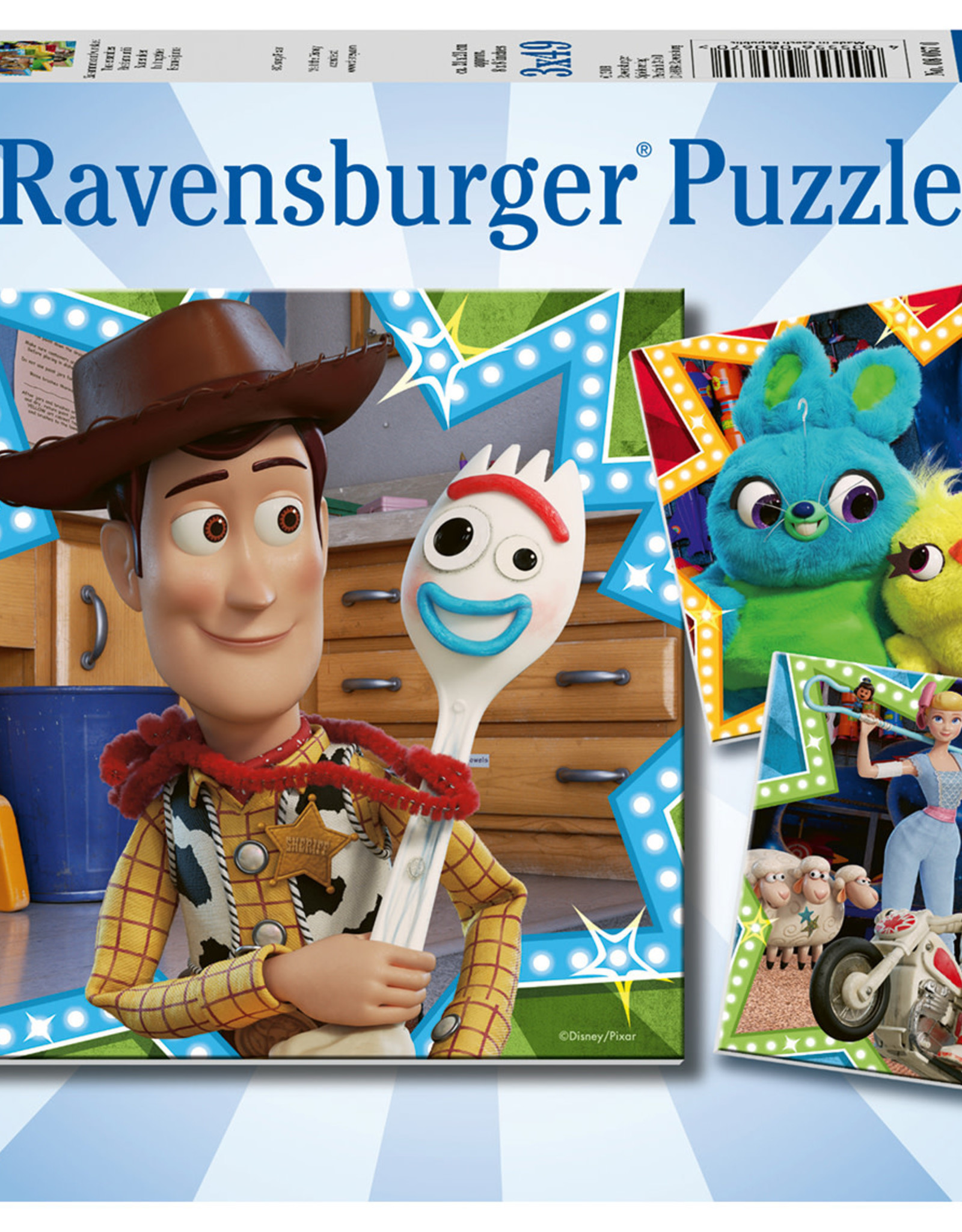 Ravensburger Disney Toy Story 4 In it Together  (3 x 49pc)