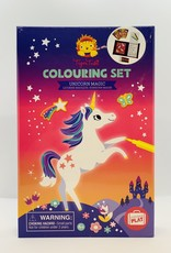 Tiger Tribe Coloring Set - Unicorn Magic