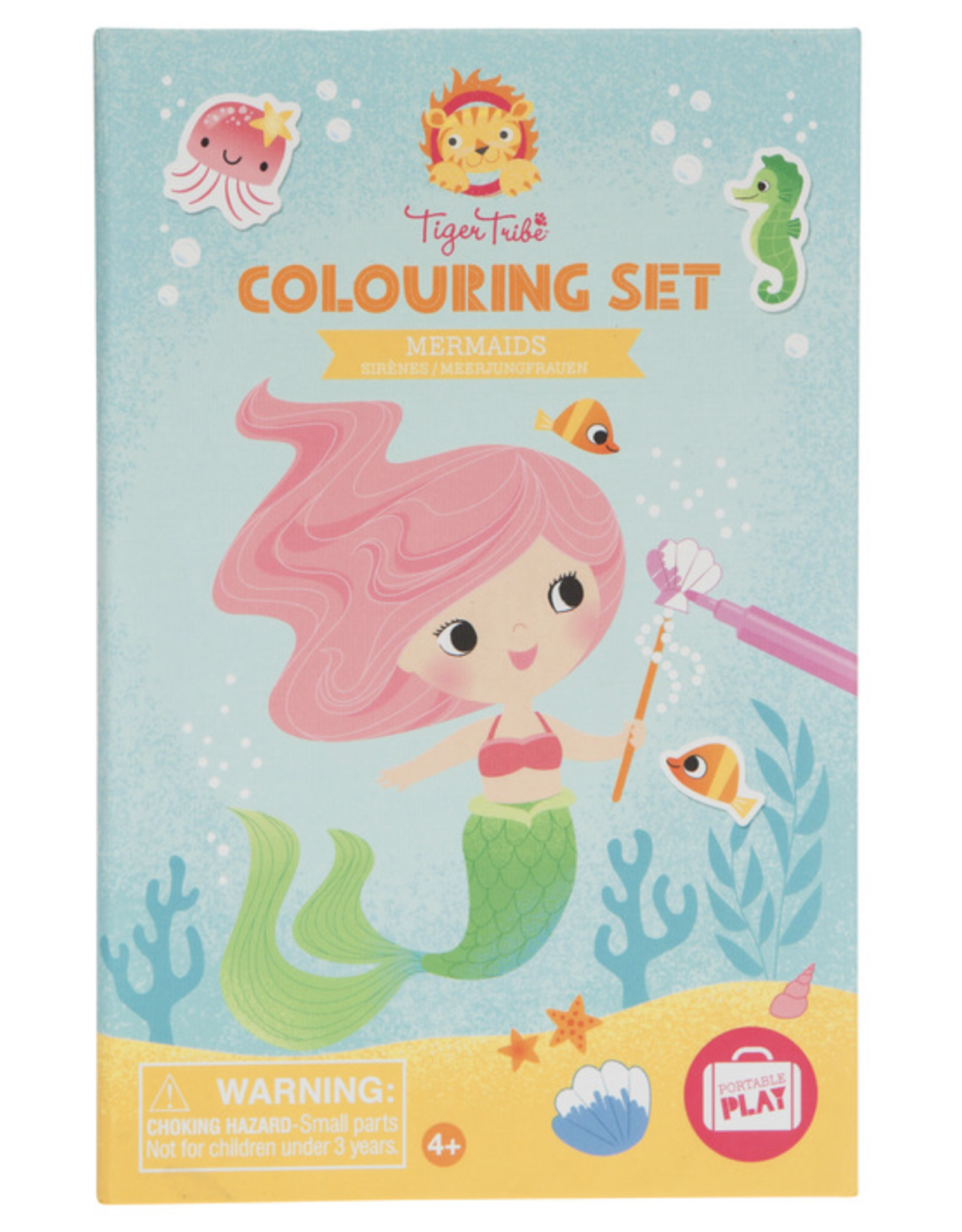 Tiger Tribe Coloring Set - Mermaids