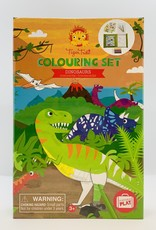 Tiger Tribe Coloring Set - Dinosaurs