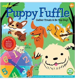 eeBoo Puppy Fuffle Board Game