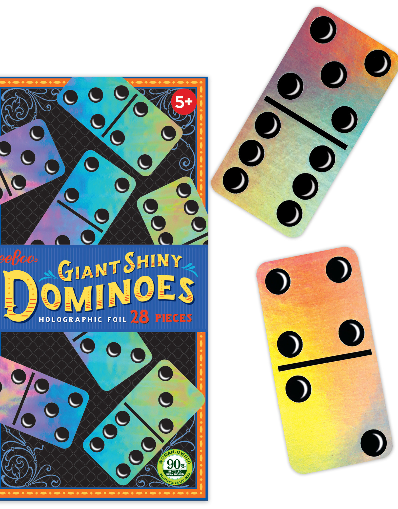 eeBoo Giant Shiny Dominoes