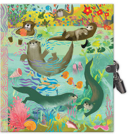 eeBoo Otters Diary with Lock